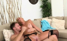 MILF Hunter Cums On Mckenzis Mouth And She Clean His Dick