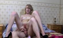 Hot blonde xxx slut gets a balls deep anal fuck