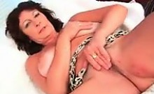 Busty Mature Woman With A Hairy Pussy