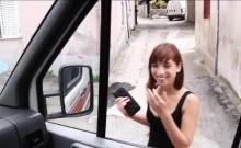 Hitchhiker Tina Hot fucks stranger inside the van as revenge