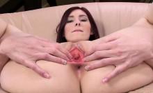 Masturbating and gapping her vagina pussy