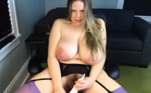Mother Zora with unreal huge lactating breast