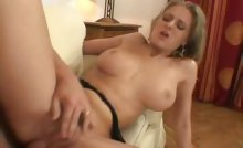 Perfect Blowjob & Anal Performed By Horny Blond Whore