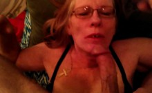 Nasty mature lady puts her amazing oral abilities into action in POV