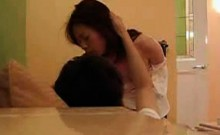 Asian sensitive shy wife become my sex slave