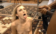 Blonde wife facialized