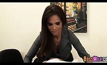 Sexy Milf Boss Syren De Mer Exploits Employee For Dick