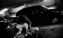 Carpark CCTV video