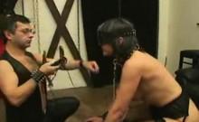 German slave that is adult gets used