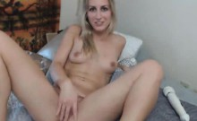 Tattooed Blonde Webcam Teen Masturbating