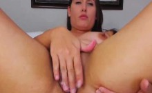 Hot Milf Milking Her Titties And Masturbating