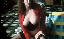 Fuzzy And Big Titted Girl That Is German