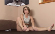 Slutty czech chick spreads her soft snatch to the bizarre
