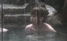 Japanese Lesbians Bathing