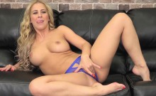 Cherie Has On Crotchless Panties For Easy Access For Fucking