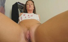 Maddy's pussy for stepbro