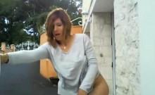 crazy Public masturbation Serena 22
