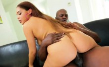Pornstar centerfold gets her anus fucked with monster cock