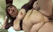 Horny Hot Granny Getting Fucked Hard By Younger Dude