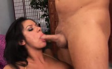 Ravishing Nadia gets to taste some jizz