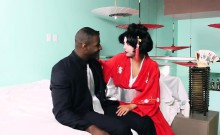 Interracial fu with Asian and BBC