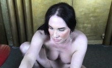 Russian Tgirl Tugging Cock And Toying Ass