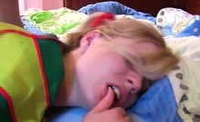 Blond Sweet Dreaming Girl First Gangbang Purzel Compilation.