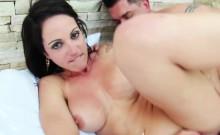 Brunette Babe Elisa Sanches Gets Her Wet Holes Fucked