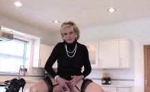 Adulterous British Milf Lady Sonia Pops Out Her Massive Ball