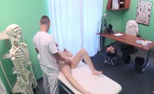 Sexy doctor fucked patient in hospital