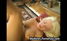 Fucked in the ass by machine