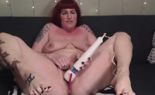 Chubby Redhead Needs Cock She Has Only Toys