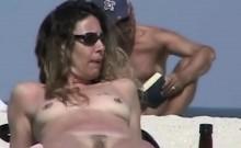 Splendid Nude Beach Voyeur Spy Cam Video