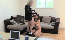 British Milf Facialized After Bj At Casting