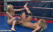 NudeFightClub presents Nataly Von vs Nikky Thorne