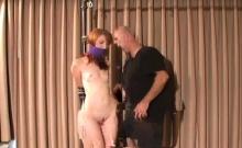 Hot hardcore slavery treatment for nasty wanting slut