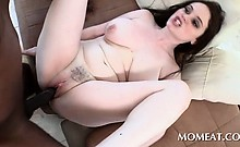 Big titted housekeeper cunt drilled by monster black dick