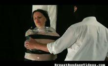 Bubble Wrap Tit Torture