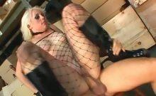 Blonde ass fucked