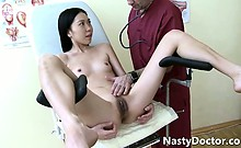old horny doc eating fresh pussy