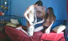 Wild sex on camera
