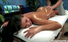 18 year old Naomi gets fucked hard from behind by her