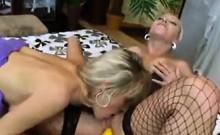 Blonde Lesbians In Lingerie