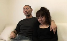 Porn star Sakura and her lover are making arrangements with