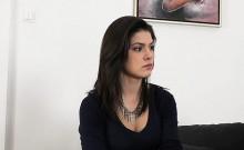 Busty Amateur Teen Fucks On Casting