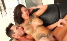 Tattooed Babe Fucking And Squirting