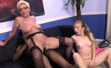Taylor Lynn And Her Stepdaughter Take Care Of A BBC