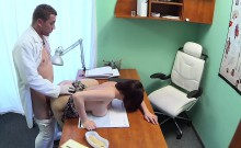 Cock hungry patient fucks doctor