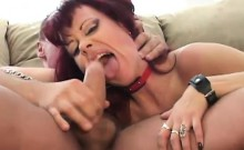 Mature babes receive a hard pounding