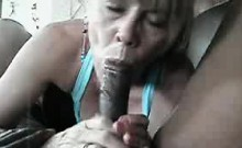 Gramma drawing on the dick that is black